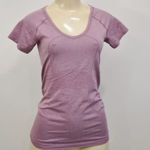 Lululemon Swiftly Tech Short Sleeve Crew Bordeaux